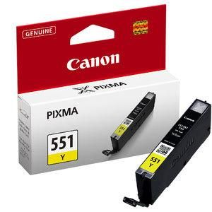 Ink Canon No 551 CLI-551 Yellow