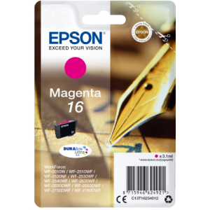Ink Epson T162340 Magenta with pigment ink