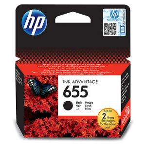 Ink HP No 655 Black Ink Crtr