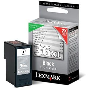 No 36XL Ink Lexmark 18C2170 Black - 500Pgs