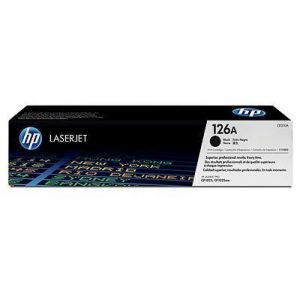 Toner Laser HP LJ Color CP1025 126A Black - 1.2K Pgs