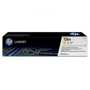 Toner Laser HP LJ Color CP1025 126A Yellow - 1K Pgs