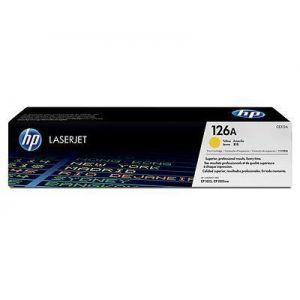 Toner Laser HP LJ Color CP1025 126A Yellow - 1K Pgs