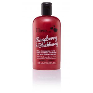I Love Bubble Bath Raspberry and Blackberry 500ml